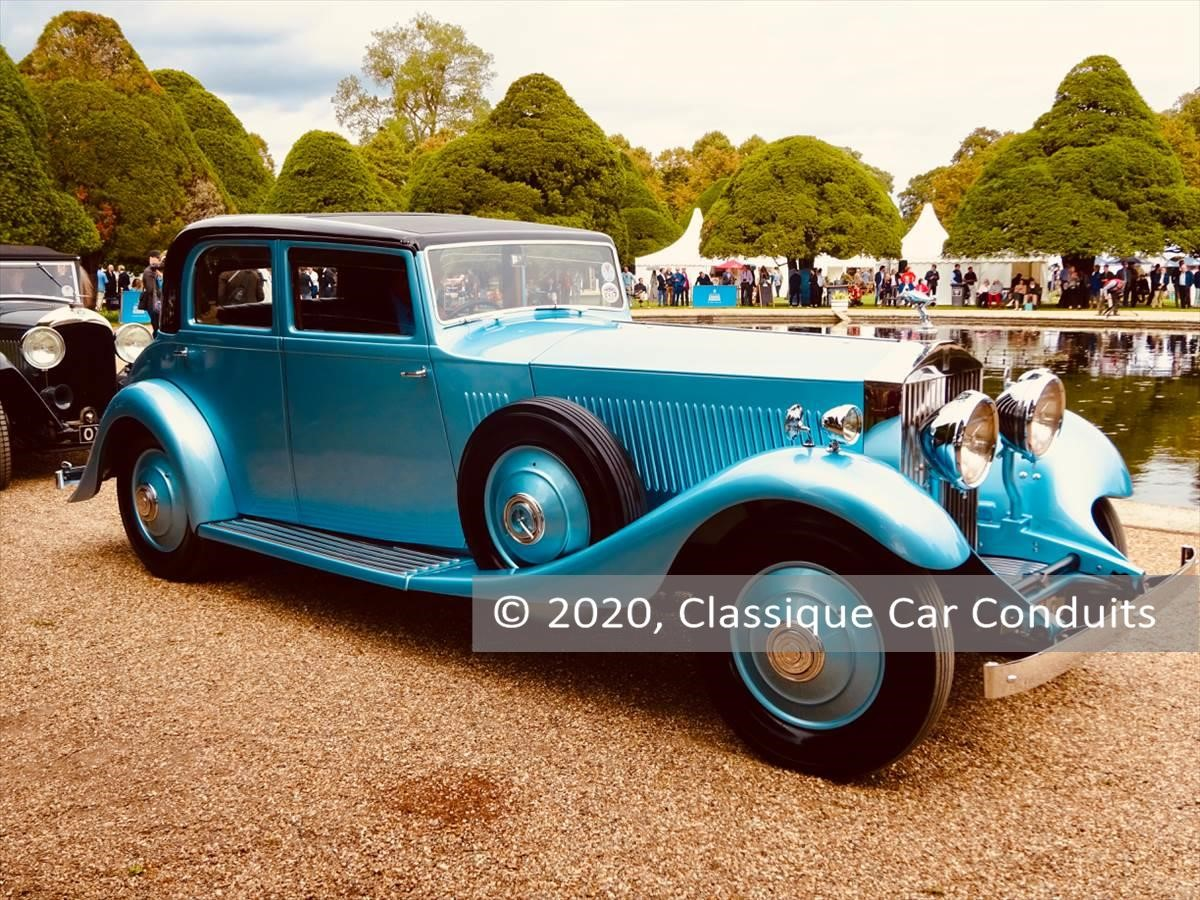 1933 Rolls-Royce Phantom II Continental Sports Saloon s/n 140MY
