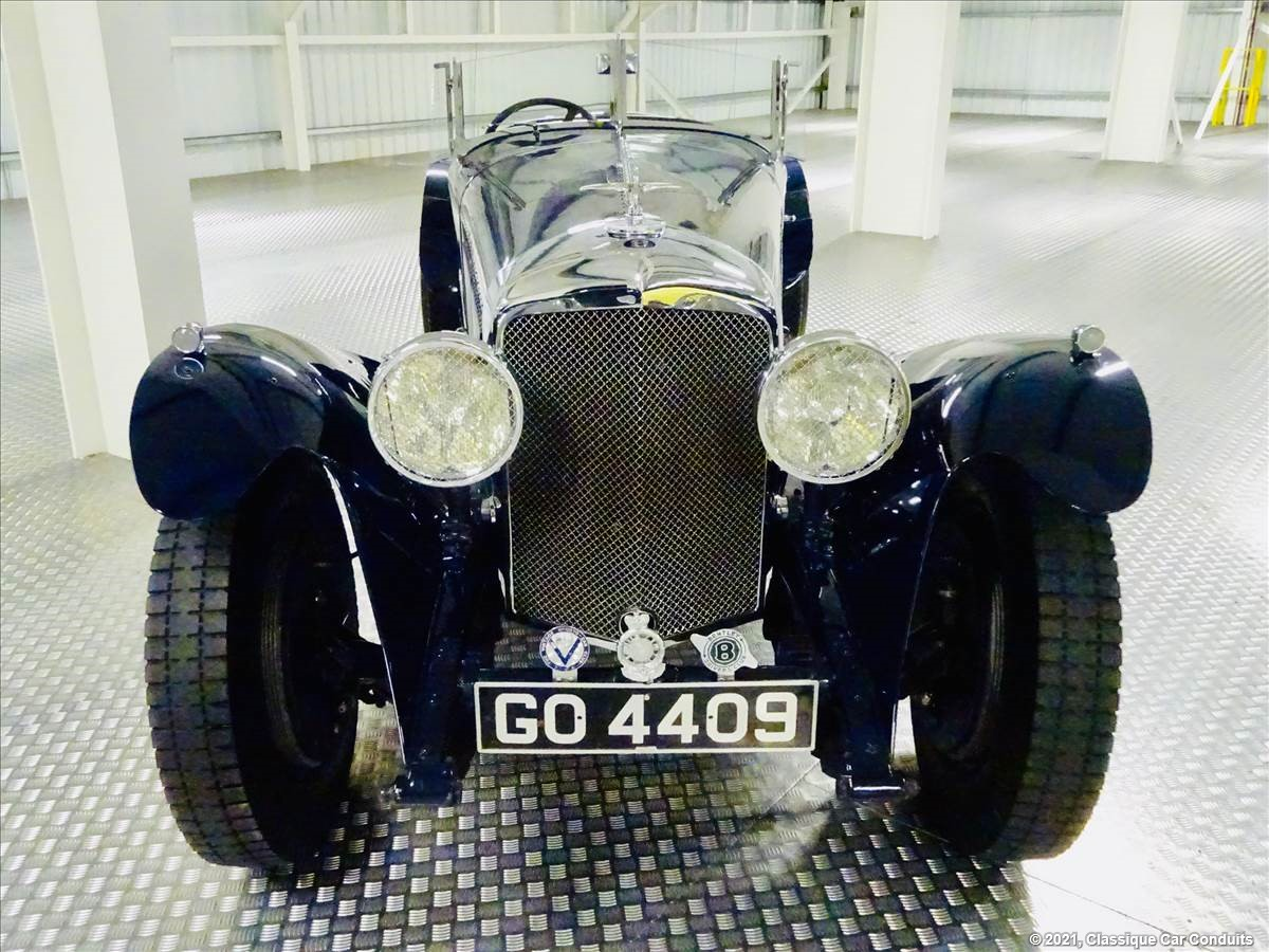 1931 Bentley 8 Litre Pointed Tail Two Seater s/n YR 5092