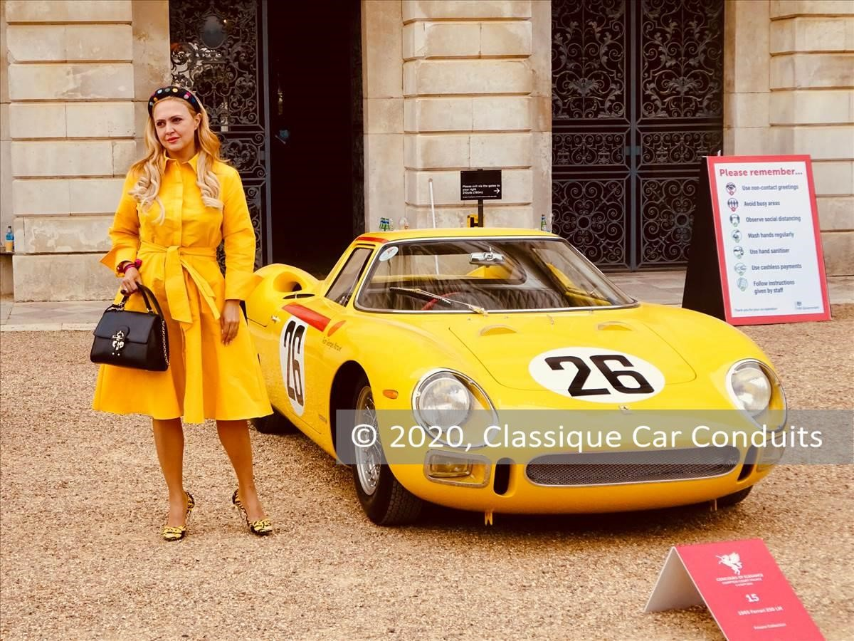 1965 Ferrari 250 LM s/n 6313 & contemporary fashion